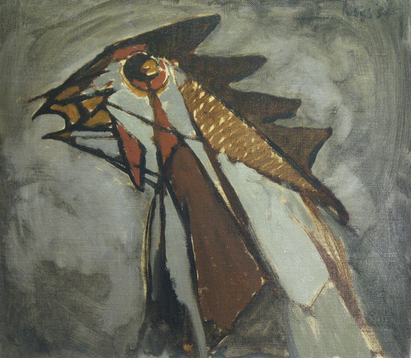 Cockerel, 1954