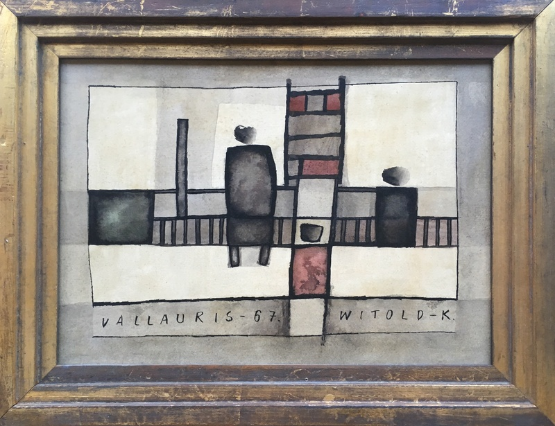 WITOLD-K (b. 1932)  VALLAURIS, 1967  SOLD