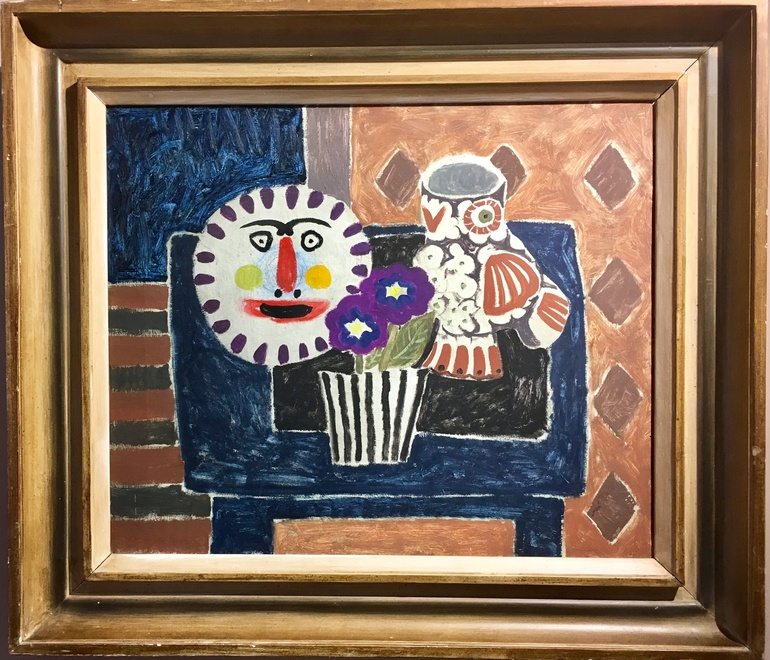 GEORGE KENNERLEY (1908-2008)  PICASSO'S POTTERY  SOLD
