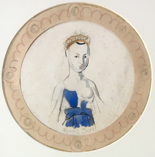 <p>VANESSA BELL (1879-1961)</p><p>AGNES SOREL PLATE</p><p class=&#34;cms_red&#34;><strong>SOLD</strong></p>